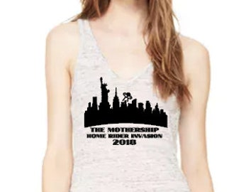 Mothership HRI 2018- Flowy V-Neck Tank