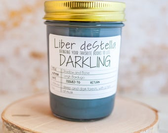 Darkling - A Shadow and Bone Inspired Candle - Book Candle - Book Gift - Book Lover - Bookish