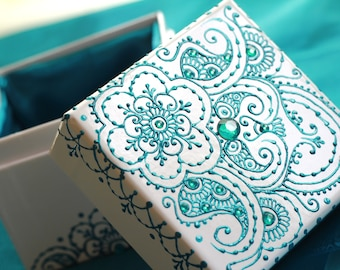 Henna Jewelry Box