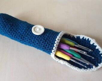 Crochet hook cosy