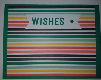 Birthday Card - Handmade Homemade w/envelope