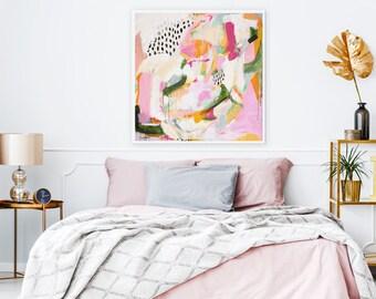 Adira Abstract art art prints prints wall art large wall art abstract wall art prints extra large wall art pink abstract  sc 1 st  Etsy & Wall art print | Etsy