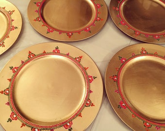Charger Plates/ Mehndi Thaals