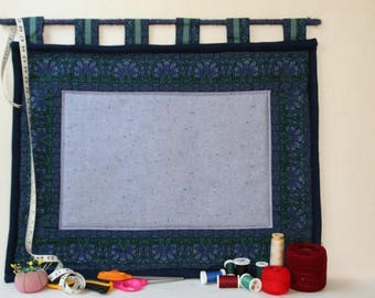 Bulletin Board Barcelona Mosiac in Navy/Teal and Lilac