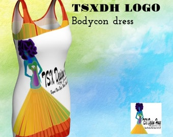 TSXDH sustainable bodycon dress