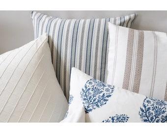 Pondichery Collection // Designer Pillows // Designer Decorative Throw Pillow Covers