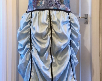 A Blue Steampunk Dress