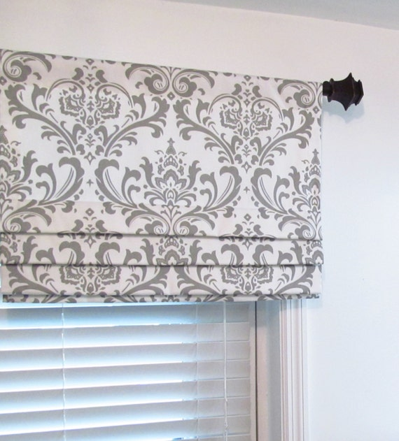 Frilled Kitchen Curtains Lined: Faux Roman Shade Lined Mock Valance Premier Prints Traditions