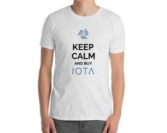 Keep Calm IOTA T-Shirt | Unisex