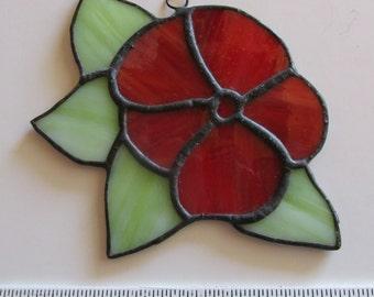 Stained Glass Suncatcher Flower