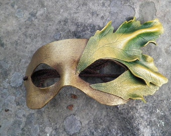 Mustard Seed Leather mask