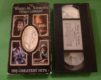 Weird Al Yankovic VHS TAPE Video Library 1992