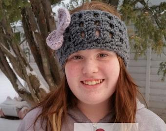 Crochet Winter Frost Headband