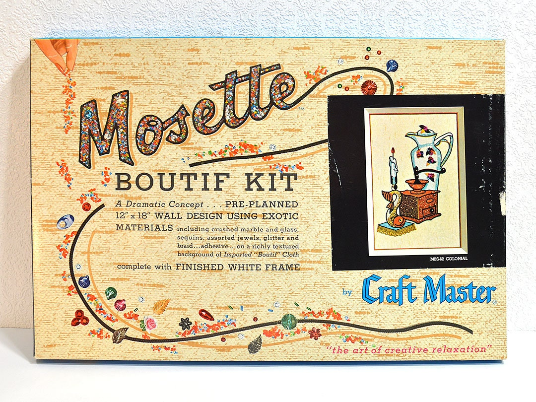 Mosette Boutif Kit- Complete Art Kit to Make 12\