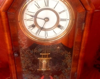 Jerome&eco want cased clock