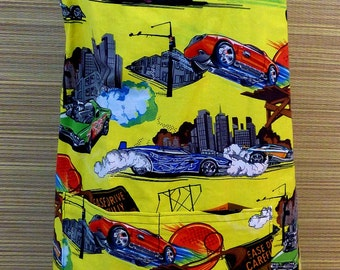 Race Cars and Roadsters Reversible Full Apron