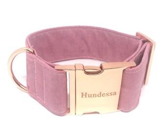 BASIC ROSE dog collar