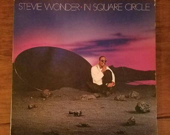 Vinyl: Stevie Wonder, In Square Circle, Sleeve and Record, Free Shipping