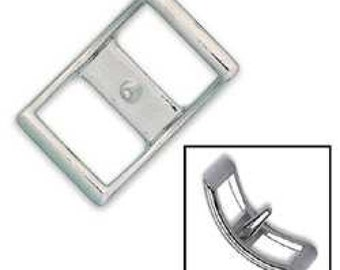 """Conway Buckle 1"""" (2.5 cm) Nickel Plated 1536-00"""