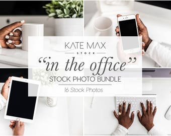 Office Mockups Styled Stock Photo Bundle / Essential Styled Stock Photos / 16 KateMaxStock Office Branding Images for Your Business