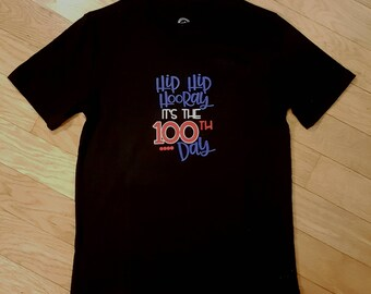 Hip Hip Hooray 100th day shirt, 100 days of school, 100th day of school, Hip Hip