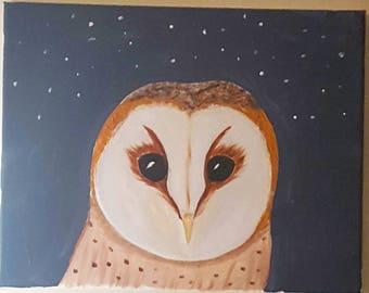 Common Barn Owl Print
