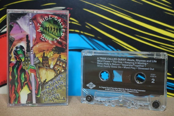 Beats, Rhymes And Life by A Tribe Called Quest Vintage Cassette Tape