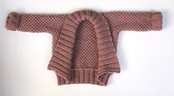 Pdf Knitting Pattern Baby Kimono