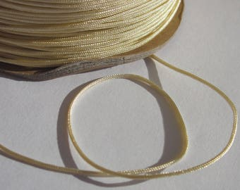 1 m of thread for jewelry cotton and polyester 1 mm thick approximately (48)