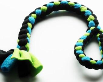 Dog Tug Toy - Large - Strong, Fleece, Safe, Fun,  Rescue