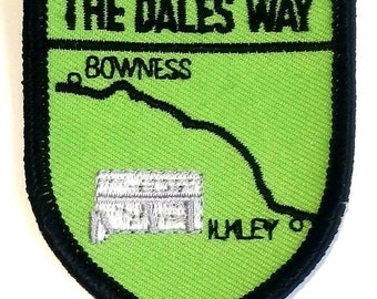 The Dales Way Embroidered Patch