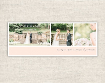 Wedding Facebook Timeline Cover - Photographer Facebook Timeline Cover Template - Facebook Photography Timeline Cover - INSTANT DOWNLOAD