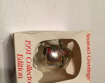 1991 campbell's soup christmas ornament