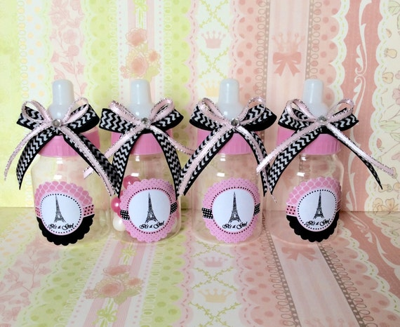 12 Small 3.5 Eiffel Tower Baby Shower Favors Paris Baby