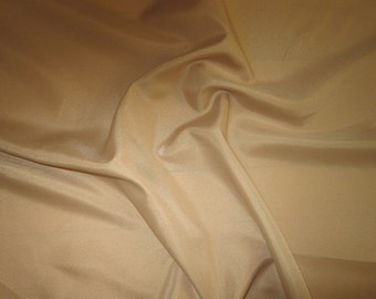 Camel Tan Beige Lining Fabric by the Yard Tan Toffee Lining For Clothing Apparel Home Decor Craft Linning Fabric Sewing fabric