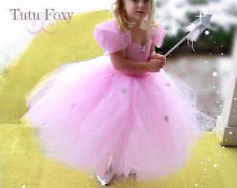 Glinda Tutu Dress, Good Witch Tutu Dress, Glinda Costume, Glida Dress, Wizard of Oz Tutu Dress, Wizard of Oz Birthday