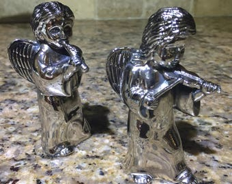 Silver plated Salt and Pepper shakers from Neiman marcus