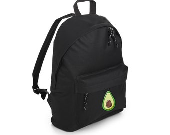 Avocado Backpack School Bag Rucksack Sports Travel Tumblr Funny Hipster Grunge Fun Festival Goth Kawaii Cute Fashion Vegan Vegetarian Detox