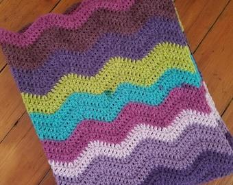Ripple Baby/Toddler Blanket