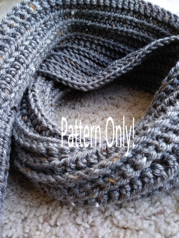Crochet PATTERN Men\'s Scarf, Men\'s Crochet Scarf PATTERN, Easy ...