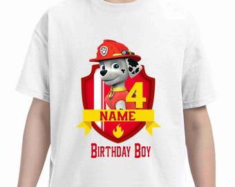 Paw Patrol Birthday t-shirt
