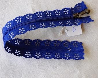 Zipper lace 20 neck 6 cm