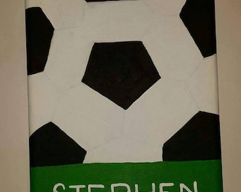 Personalized Soccer Wall Art