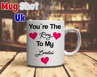 "Gillmore Girls ""Youre the Rory to my Lorelai"" Coffee Mug"