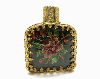 Miniature perfume bottle | 60s Handbag accessory