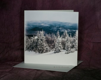 Blank Mont Tremblant Greeting Cards