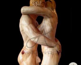 Sculptures wood carvings