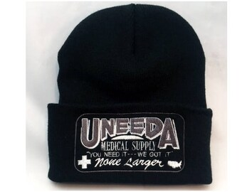 Uneeda Medical Supply beanie Return Of The Living Dead zombie movie