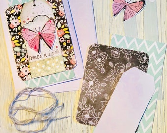 6 Happy Birthday cards & Envelopes