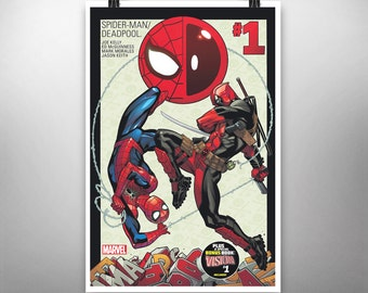 Spider-Man/Deadpool #1 - Poster Art Print
